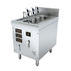 Three Holes Automatic Commercial Induction Noodle Cooker