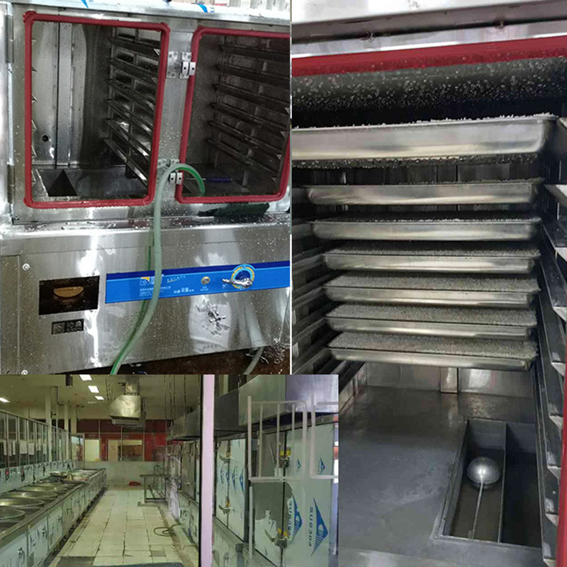 QX-ZF24 Double Doors Induction Rice Steamer Commercial