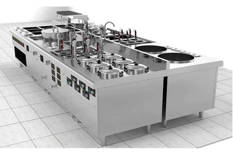 Lestov commercial induction cooktops