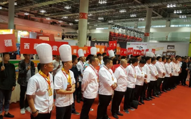 Cooking competition teams