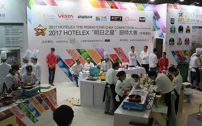 induction cooking competition