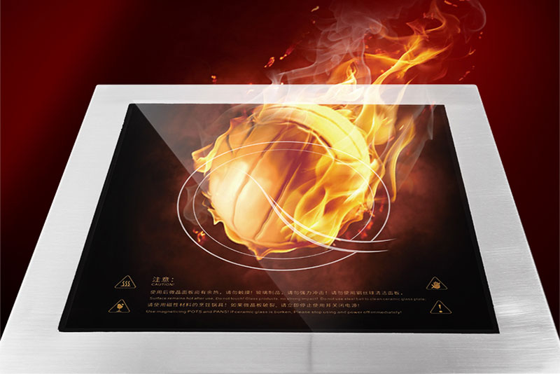 ceramic-glass-of-commercial-induction-cooker