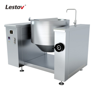 Commercial 380v Industrial Tilting Induction Soup Boiler for Factory