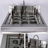 Commercial Kitchen Equipments 9 Holes Commercial Induction Pasta Cooker