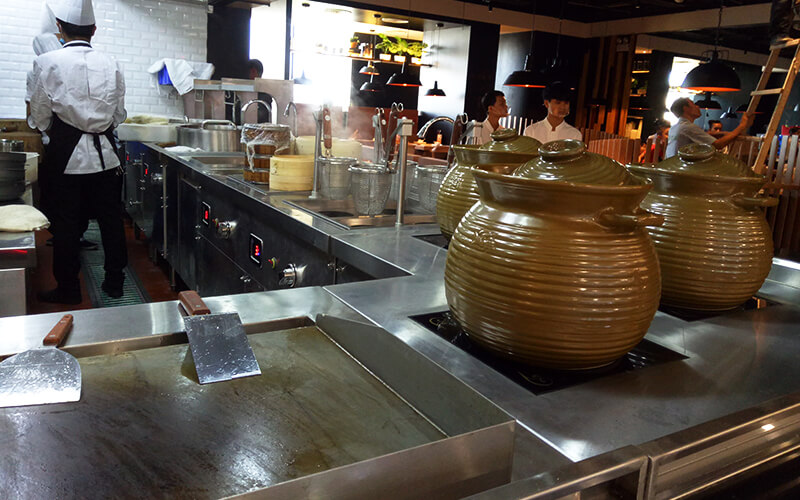 Appliance expansion of commercial induction cookers in China