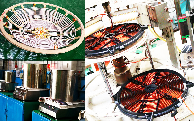 induction coil manufactured by Lestov cooker
